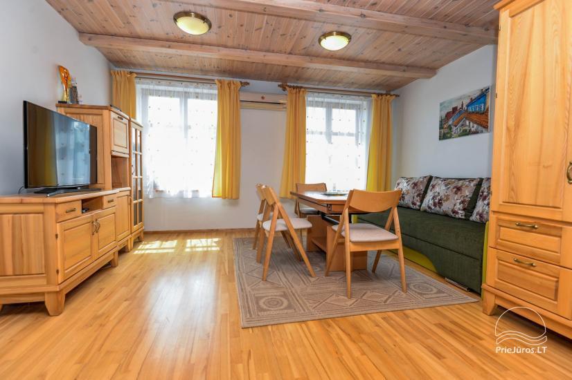 Trīs istabu dzīvoklis ar pagalmu, lapene - īre Nidā, Kuršu kāpā - 16