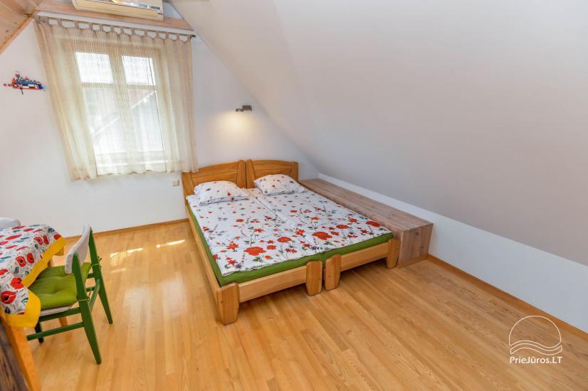 Trīs istabu dzīvoklis ar pagalmu, lapene - īre Nidā, Kuršu kāpā - 17