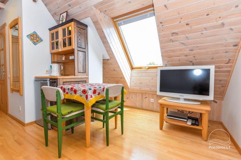 Trīs istabu dzīvoklis ar pagalmu, lapene - īre Nidā, Kuršu kāpā - 20