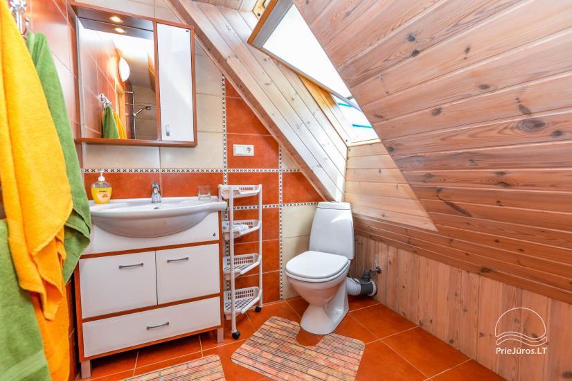 Trīs istabu dzīvoklis ar pagalmu, lapene - īre Nidā, Kuršu kāpā - 22