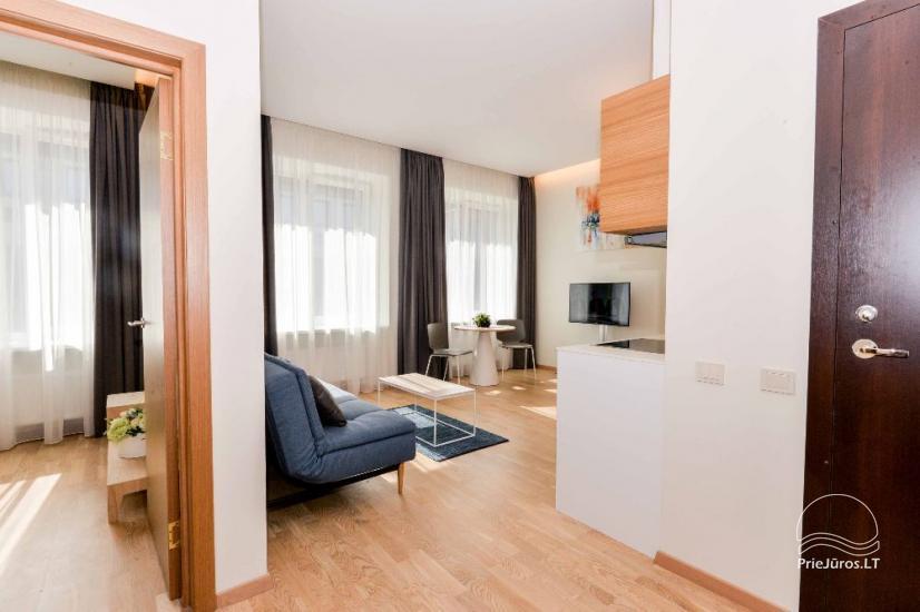 Jaukiai įrengti dviejų kambarių apartamentai Jūsų poilsiui Palangos širdyje - 4