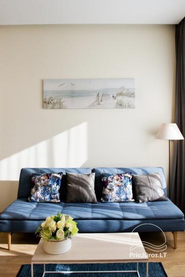 Jaukūs dviejų kambarių apartamentai nuomai Palangos širdyje - 8