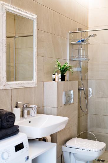 Mājīgs divu istabu dzīvoklis Palangā - 12
