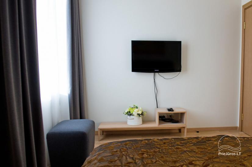 Mājīgs divu istabu dzīvoklis Palangā - 14