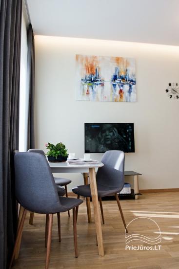 Mājīgs divu istabu dzīvoklis Palangā - 15
