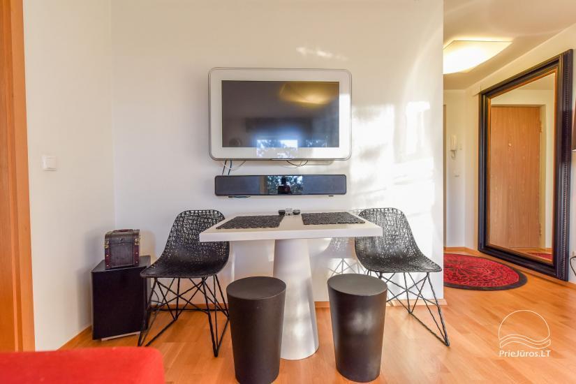 Erdvus, puikiai įrengtas butas nuomai Palangoje, Vanagupės gatvėje - 7