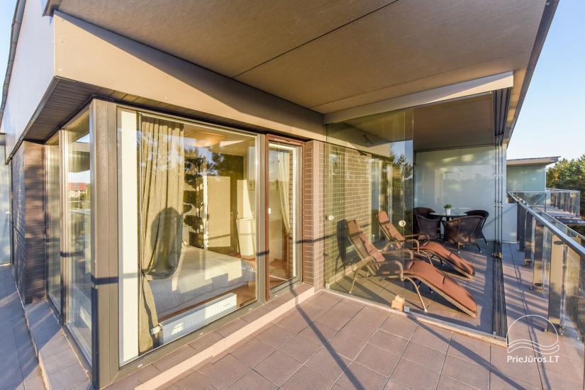 Erdvus, puikiai įrengtas butas nuomai Palangoje, Vanagupės gatvėje - 9