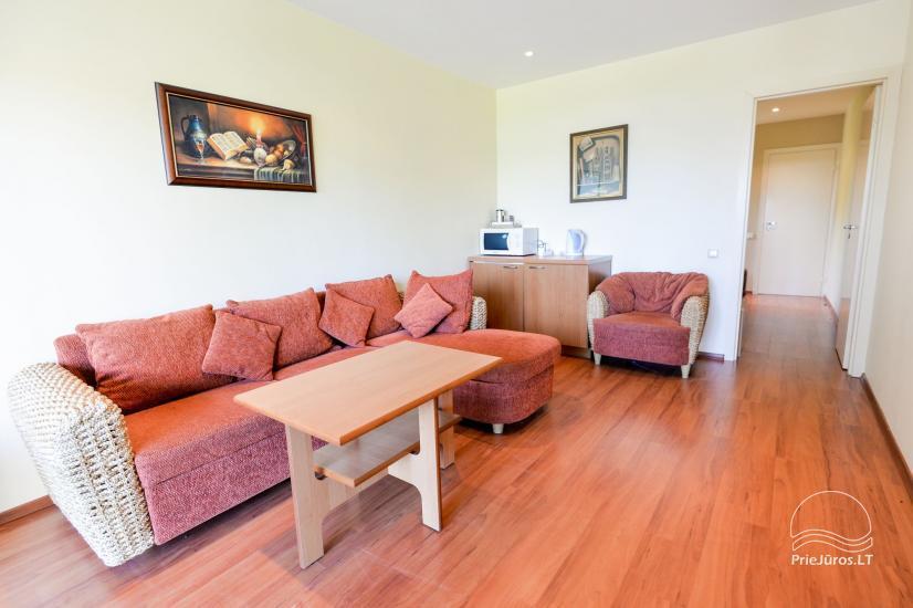Vieno kambario (studio tipo) ir dviejų kambarių butai poilsiui Nidoje - 1