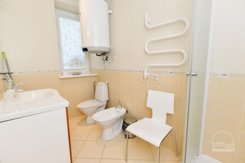 Vieno kambario (studio tipo) ir dviejų kambarių butai poilsiui Nidoje - 4