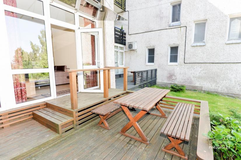 Vieno kambario (studio tipo) ir dviejų kambarių butai poilsiui Nidoje - 7