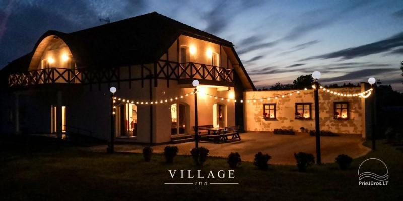 """""""Village Inn"""" sodyba šventėms ir poilsiui - pajūrio regione"""