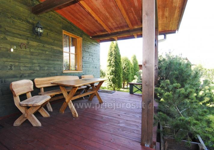 Namo ir namelių nuoma Antrojoj Melnragėje prie pat jūros - 3