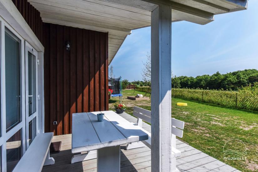 Zvejo dukros new holiday houses for rent in Sventoji - 10