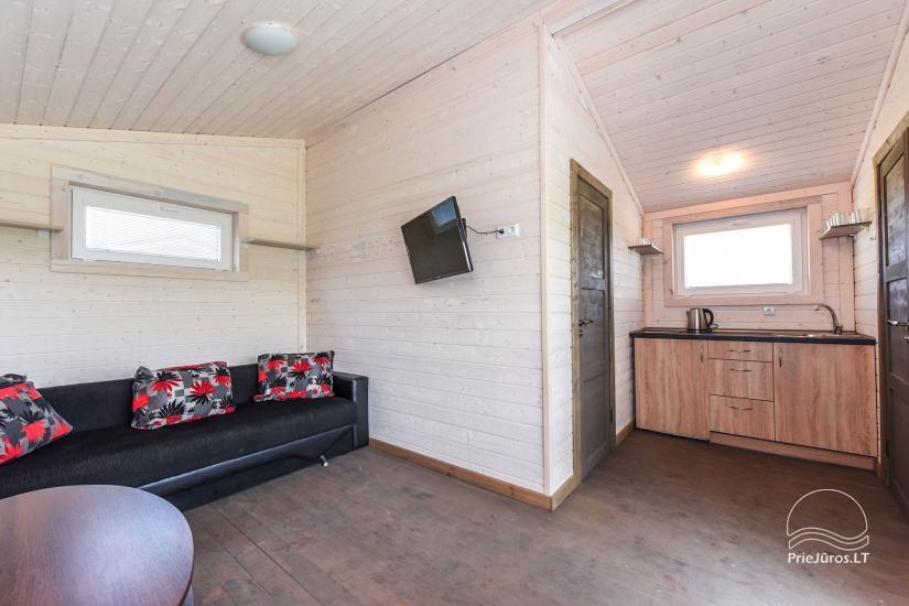 Zvejo dukros new holiday houses for rent in Sventoji - 12