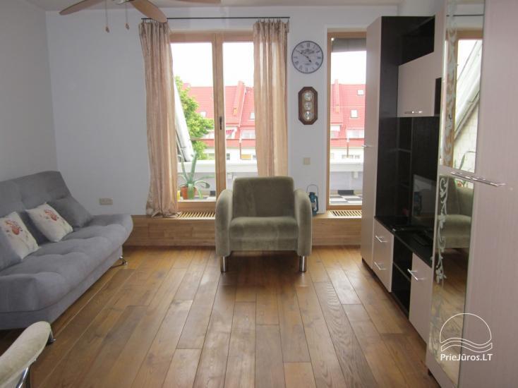 Nuomojamas 2 kambarių butas Nidos centre