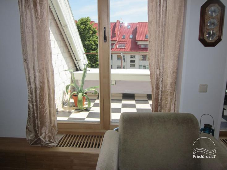 2 rooms apartment for rent in the center of Nida, Curonian Spit, Lithuania - 11