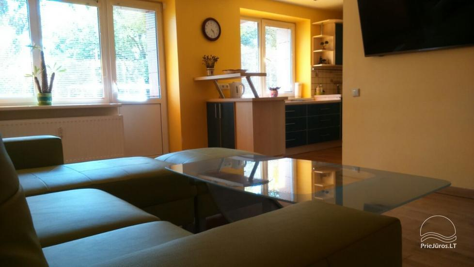 Two rooms flat for rent in Palanga, in B. Oskino street - 1