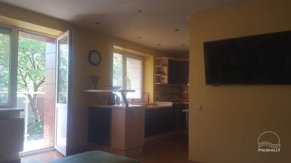 Two rooms flat for rent in Palanga, in B. Oskino street - 9