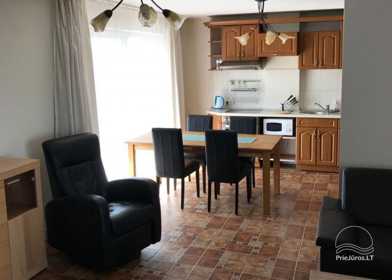 """72 m² ploto butas Šventojoje """"ŽUVĖDROS NAMAI"""" - 1"""