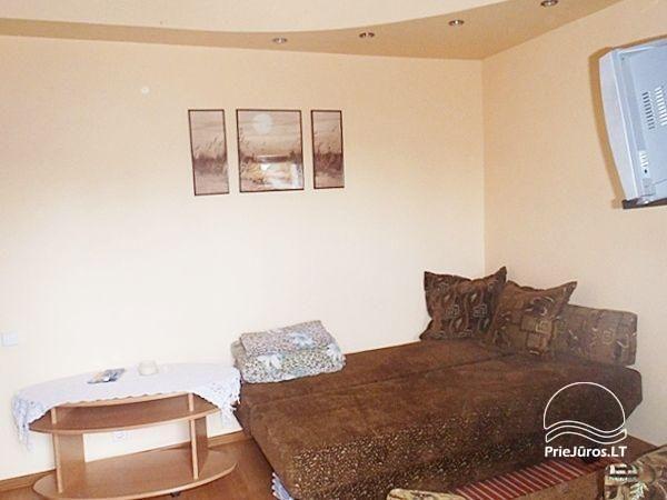 Eins-Zimmerwohnung in Nida. Das Erdgeschoss, 500 Meter zum Meer - 2