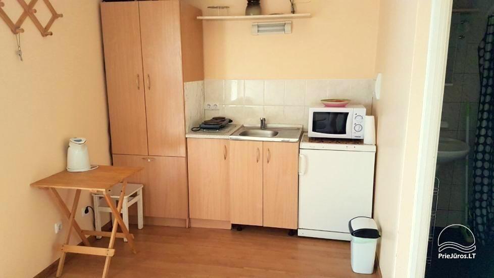 Eins-Zimmerwohnung in Nida. Das Erdgeschoss, 500 Meter zum Meer - 3