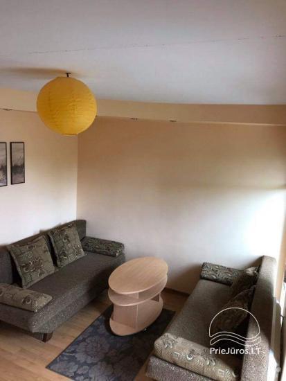1 istabu dzīvoklis Nidā. Pirmais stāvs, 500 metru attālumā no jūras - 4