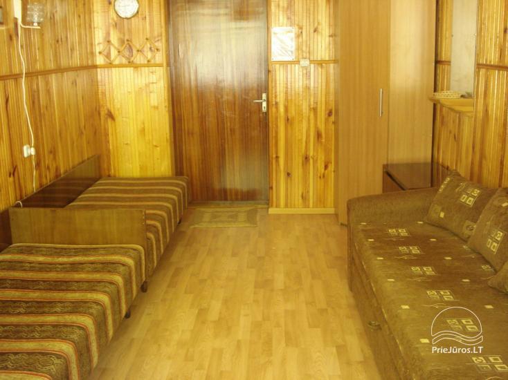 Istabu īre Juodkrante, Kuršu kāts, Lietuva - 2