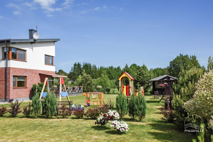 Apartments with terraces close to the sea in Palanga VILLA JURA - 2