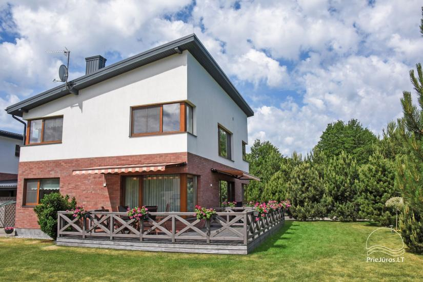 Apartments with terraces close to the sea in Palanga VILLA JURA - 1