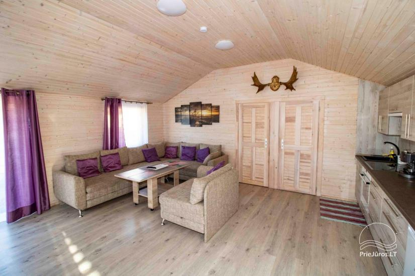 New holiday houses with all amenities for rent in Sventoji. Rest place Svyturys - 10