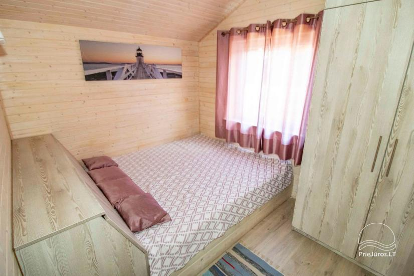 New holiday houses with all amenities for rent in Sventoji. Rest place Svyturys - 11