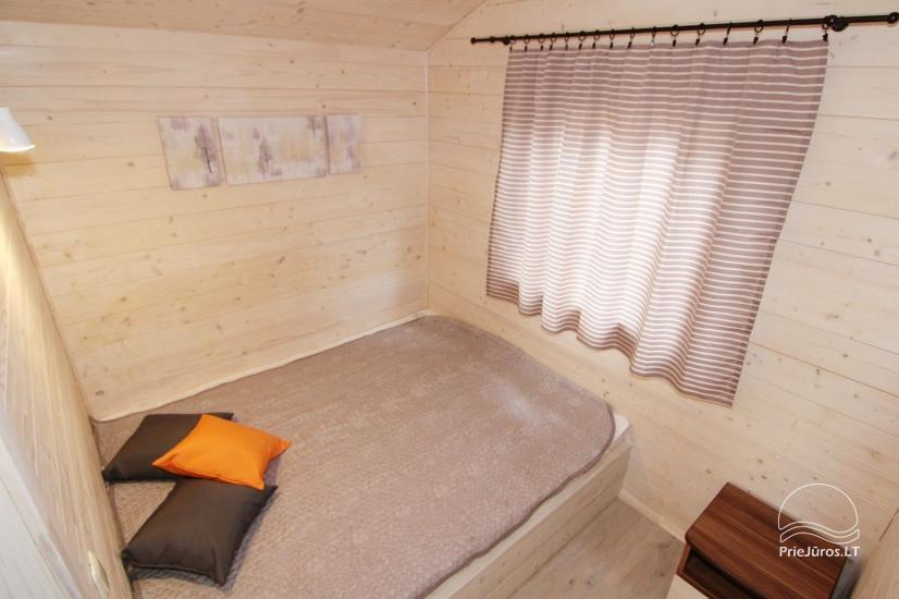 New holiday houses with all amenities for rent in Sventoji. Rest place Svyturys - 17