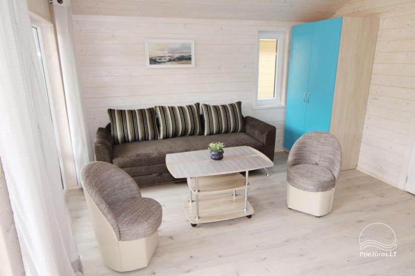 New holiday houses with all amenities for rent in Sventoji. Rest place Svyturys - 20