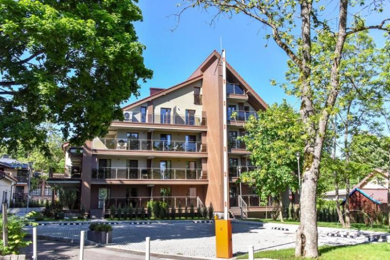 Nauji apartamentai Juodkrantėje Gėlių terasos