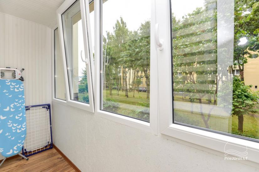 Two rooms flat for rent in Palanga - 11