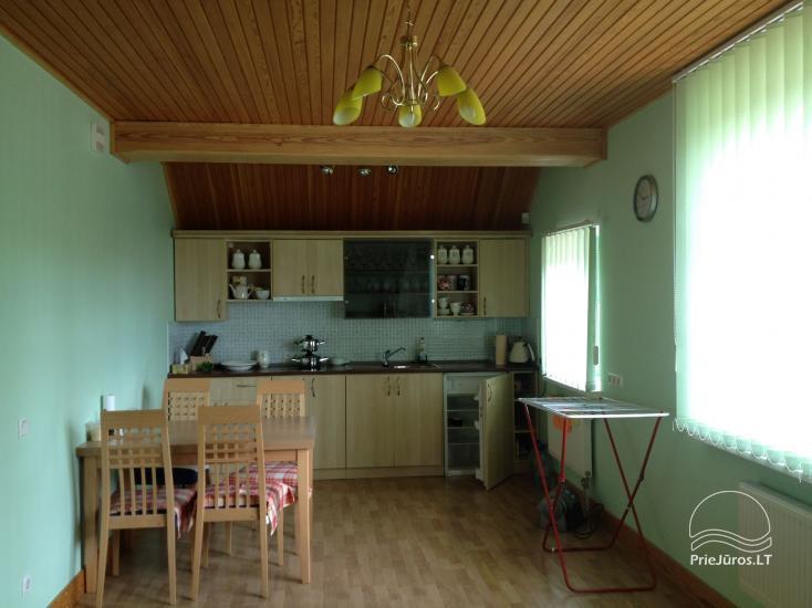 Medernus, erdvus ir šiesus vieno miegamojo apartamentas Palangoje - 2