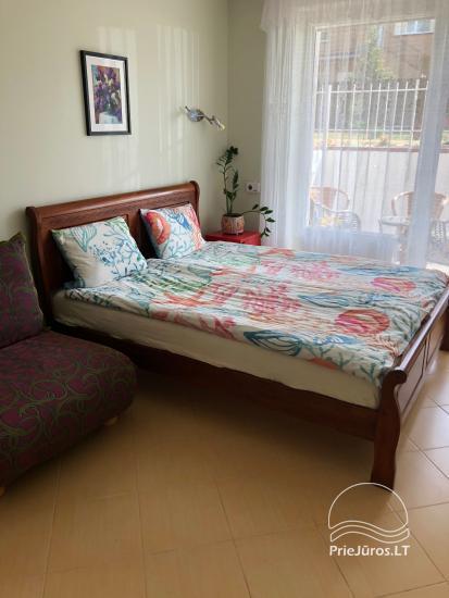 Dviejų kambarių butas su terasa nuomai Palangoje - 5