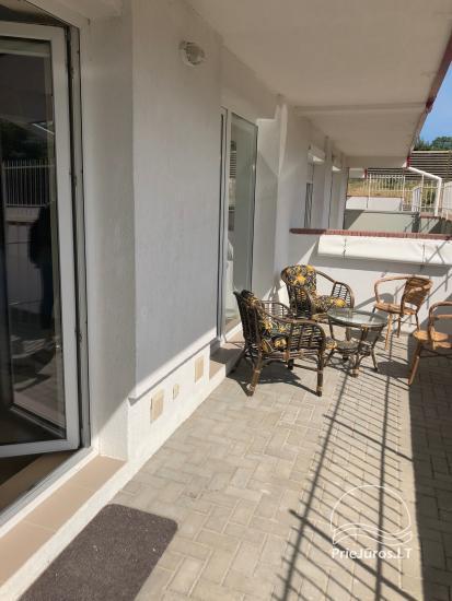 Dviejų kambarių butas su terasa nuomai Palangoje - 6