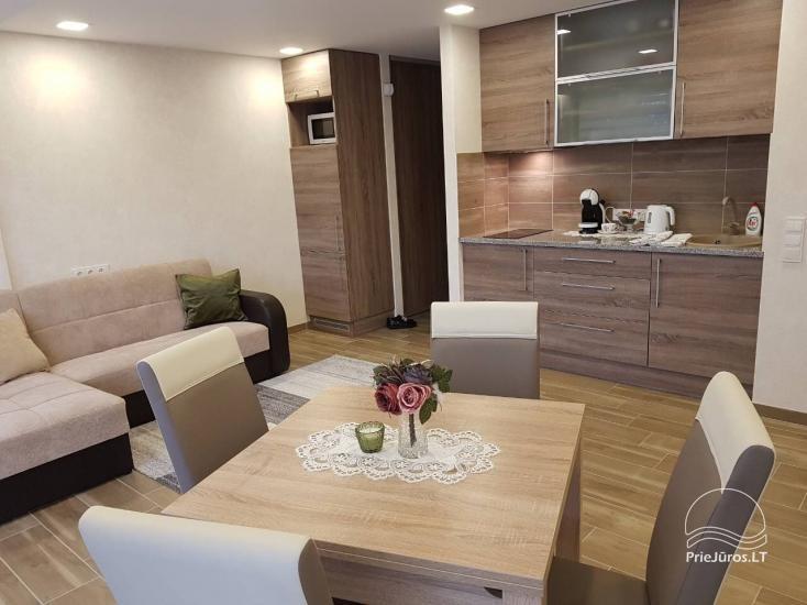 Modernūs ir jaukūs apartamentai pačiame Palangos centre