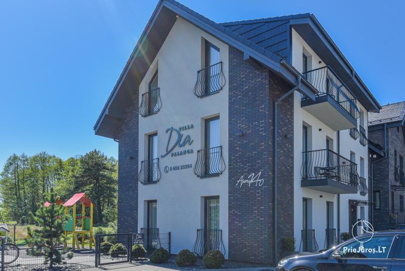 Vila DIA - Apartamentų nuoma Palangoje, prie pat pajūrio pušyno