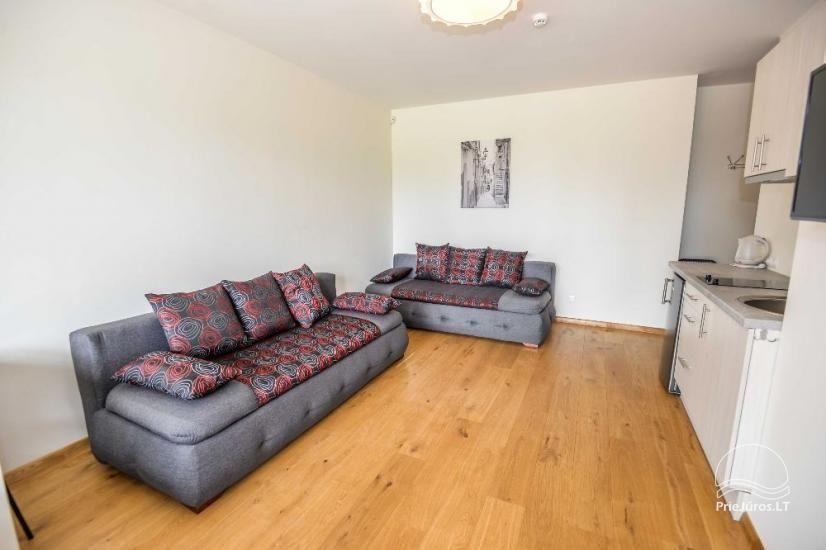Palangā izīrēts jauns dzīvoklis ar terasi - 2