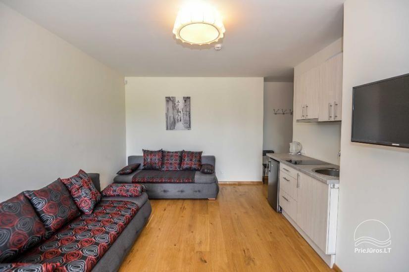 Palangā izīrēts jauns dzīvoklis ar terasi - 3