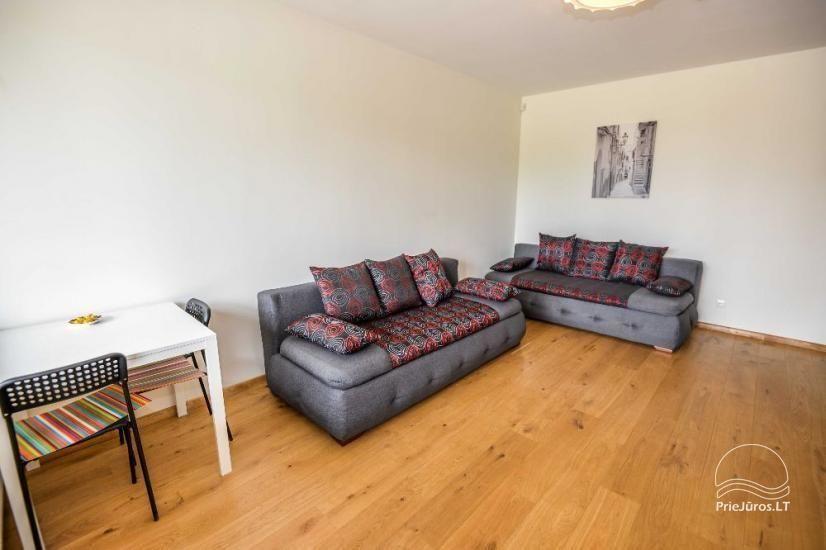 Palangā izīrēts jauns dzīvoklis ar terasi - 4