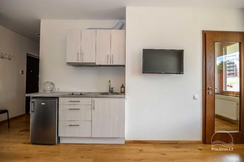 Palangā izīrēts jauns dzīvoklis ar terasi - 5