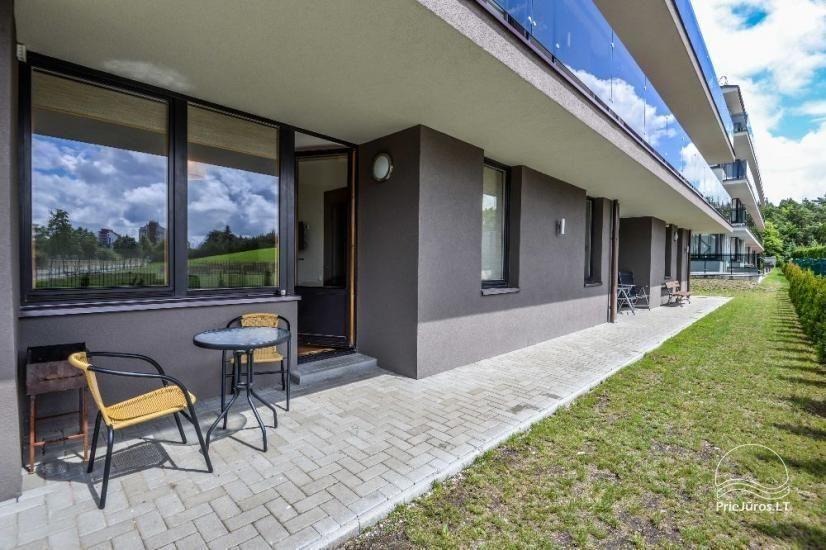 Palangā izīrēts jauns dzīvoklis ar terasi - 8