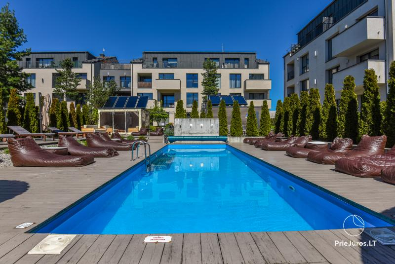 MALŪNO VILA 777 - nauji apartamentai Palangos centre su baseinu