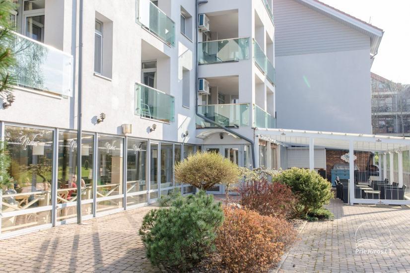 Erdvūs 3 miegamųjų apartamentai Nidoje su balkonu / terasa ir vaizdu į pušyną - 30