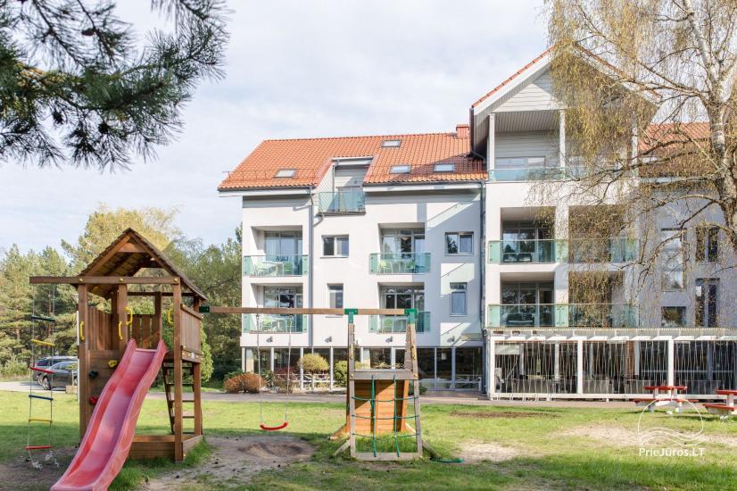 Erdvūs 3 miegamųjų apartamentai Nidoje su balkonu / terasa ir vaizdu į pušyną - 32