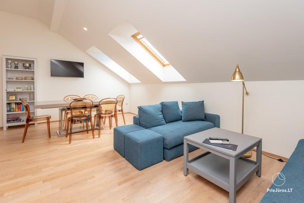 3 miegamųjų erdvūs apartamentai Nidoje su balkonu / terasa - 7