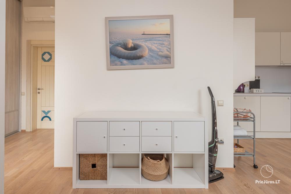 Geräumiges 3-Zimmer-Apartment in Nida mit Balkon / Terrasse - 6